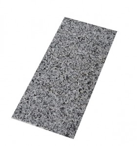 Granite tile - flamed - Dark Grey New G654  30,5x61x1