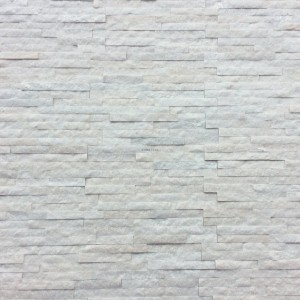 Decorative Quartzite Stone - White 10x40